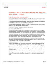 Five New Laws of Antimalware Protection: Keep Up with Evolving Threats