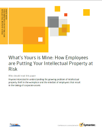 What is Yours is Mine: How Employees are Putting Your Intellectual Property at Risk
