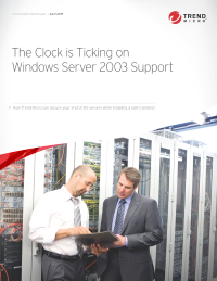 The Clock is Ticking on Windows Server 2003 Support