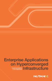Enterprise Applications on Hyperconverged Infrastructure