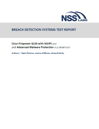 Breach Detection Systems Test Report