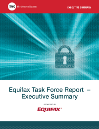 Equifax Task Force Report