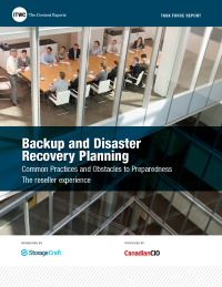 Backup and Disaster Recovery Planning  - Common Practices and Obstacles to Preparedness - The reseller experience