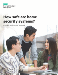 How safe are home security systems? An HPE study on IoT security
