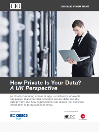 How Private is your Data? A UK Perspective