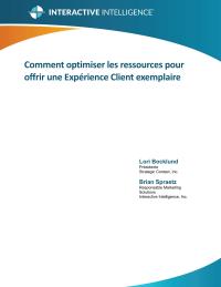 Comment optimiser les ressources pour offrir une expérience client exemplaire
