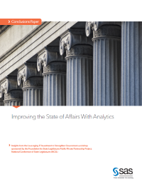 Improving the State of Affairs With Analytics