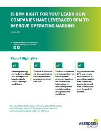Is BPM for You? Learn How Companies Have Leveraged BPM to Improve Operating Margins
