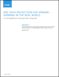 EMC Data Protection For VMWare-Winning In The Real World