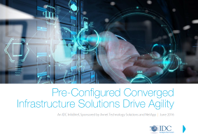 Pre configured Converged Infrastructure Solutions Drive Agility