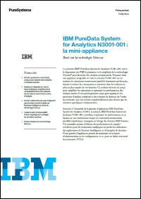 IBM PureData System for Analytics N3001-001: la mini-appliance