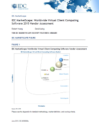 IDC Marketscape Worldwide Virtual Client Computing Software