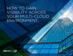 How to Gain Visibility Across Your Multi-Cloud Environment