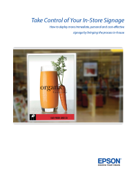 Take Control of Your In-Store Signage