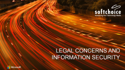 Security And Legal Concerns With Office 365