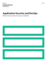 Application Security and DevOps