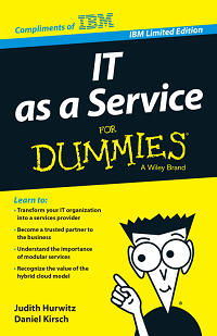 IT as a service for dummies