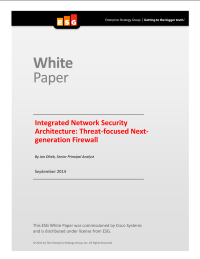 Integrated Network Security Architecture: Threat-focused Next-generation Firewall