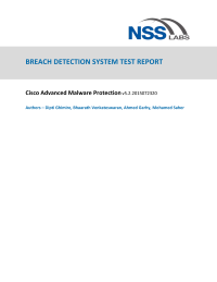 Breach detection system test report