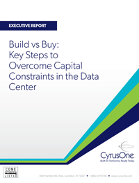Build vs Buy: Key Steps to Overcome Capital Constraints in the Data Center
