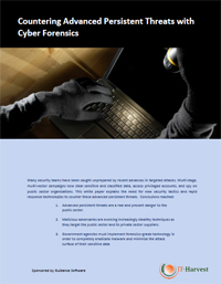 Countering Advanced Persistent Threats with Cyber Forensics