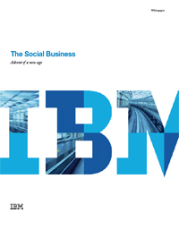 The Social Business - Advent of a new age