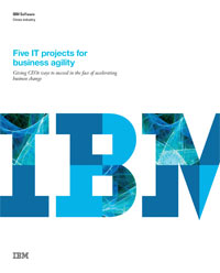 Five IT Projects for business agility