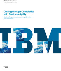 Cutting through Complexity with Business Agility