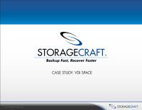 Case Study:  VDI Space
