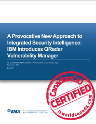 A Provocative New Approach to Integrated Security Intelligence: IBM Introduces QRadar Vulnerability Manager