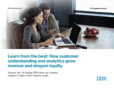Learn from the best: How customer understanding and analytics grow revenue and deepen loyalty