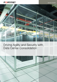 Driving Agility and Security with Data Center Consolidation