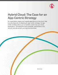 Hybrid Cloud: The Case for an App-Centric Strategy