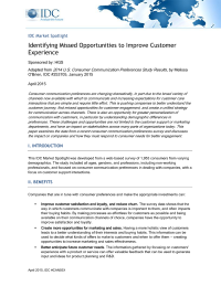 Identifying Missed Opportunities to Improve Customer Experience