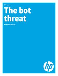 The bot threat