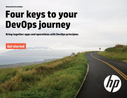 Four keys to your DevOps journey