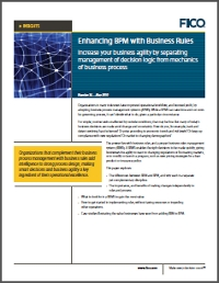 Enhancing BPM with Business Rules