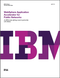 WebSphere Application Accelerator for Public Networks
