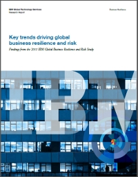Key trends driving global business resilience and risk