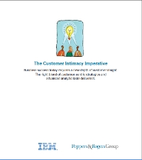 The Customer Intimacy Imperative