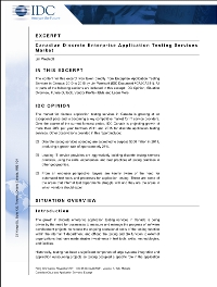 Canadian Discrete Enterprise Application Testing Services Market