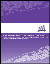Creating Project Delivery Efficiency