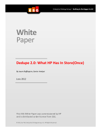 Dedupe 2.0: What HP Has In Store(Once)