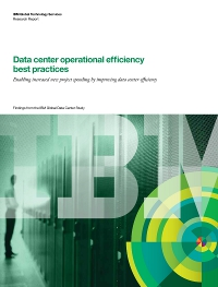Data centre operational efficiency best practices