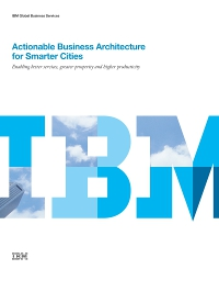 Actionable Business Architecture for Smarter Cities