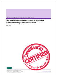 Next Generation Workspaces Will Resolve Around Mobility And Virtualization