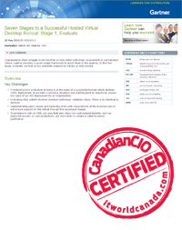 Gartner Seven Stages To A Successful Hosted Virtual Desktop Rollout