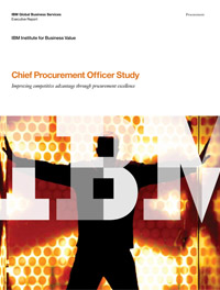 Chief Procurement Officer Study: Improving competitive advantage through procurement excellence