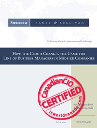 How the Cloud Changes the Game for Line of Business Managers in Midsize Companies