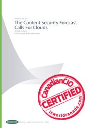 ITW279D/286D - The Content Security Forecast Calls For Clouds